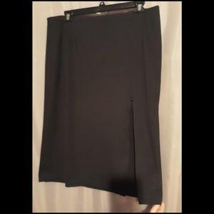 Lane Bryant side-slit optional pencil skirt
